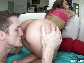 ретро порно в жопу