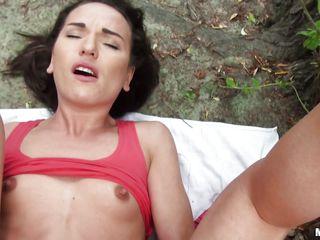 Реально первый в попу порно